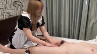 [mens Beauty Treatment Salon] Handjob Hidden Shooting ★ I Faint In Agony With The Bold Stroke