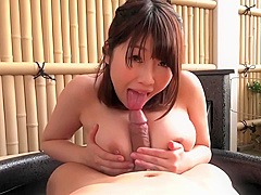 Busty Japanese Sakura Getting Tripple Shag – Hairy Pussy And