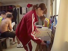 Best Japanese model Airi Suzumura in Incredible college, handjobs JAV movie