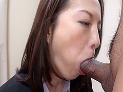 Horny Milf Gets Her Hole Drilled Deep By Her Colleague At The Office