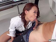 Japanese Doctor Koi Miyamura Sucks Dick Uncensored