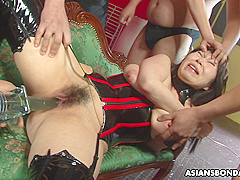 Plump Eri Kitahara Is Moaning While Being To Cum