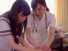 Schoolgirl Wants Become A Good Nurse