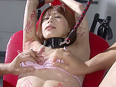 Tied Up Jav Sub Slut In Crotchless Panties Fucked With A Bbc Dildo